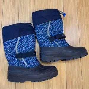 L.L. BEAN waterproof winter snow boots, boys 5.